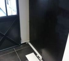 pose et mise en peinture des portes de placard du cellier kit porte coulissante spaceo de leroy merlin planches de medium peinture tableau d ecole blanchon