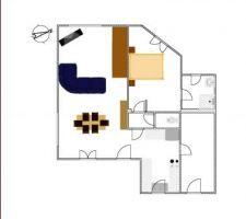 ce que devrais donner le rdc fait sur sweet home 3d