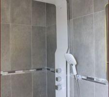 Notre colonne de douche Hansgrohe Duschpaneel RAINDANCE LIFT !!!!!
