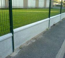 Réflexion clôture - Grillage rigide