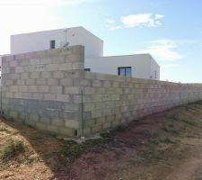 mur et muret prise de vue par nord est