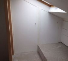 Portes de placards fait maison