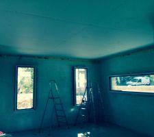 plafond fini salon