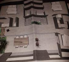 voici les plans en 3d de notre future maison