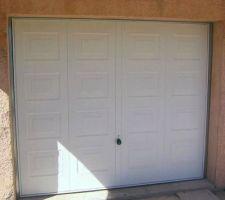 notre porte de garage basculante modele cassette