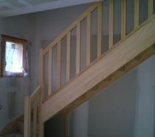 l escalier pose