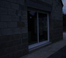 baie vitree cote sud