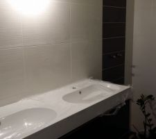 Meuble Ikea 140cm salle de bain parentale