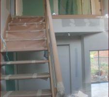 escalier fini