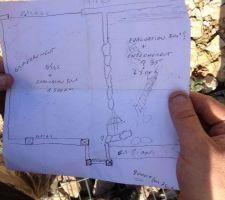 un petit plan de ce que le paysagiste proposait pour la devanture finalement le projet ne sera pas tout a fait comme cela