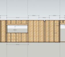 plan de fabrication mur contreventement agepan