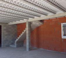 escaliers avec marches de hauteur et de profondeur differentes