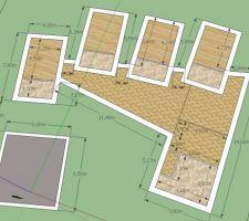 plan des pieces de la maison