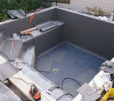 Jardini re fraises maison mi moderne mi arcachonaise sur for Coque piscine 3x3