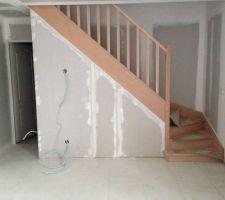 enfinnnnn les escaliers attendus depuis mai
