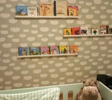 la chambre de bebe avance