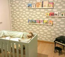 La chambre de bébé avance