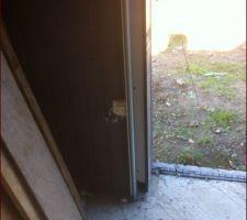 Détails de pose de la porte de garage