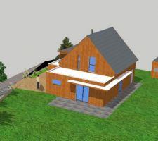 maison en bois a guerande