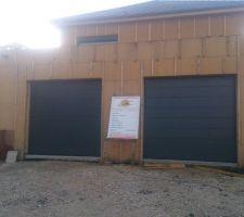 Vue 2 portes sectionnelles