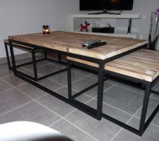 nouvelle table basse