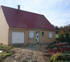 crepi effet pierre exterieur de la maison fini tres beau rendu