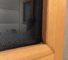 Problème de condensation menuiserie Minco