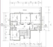 Plan étage (projet abandonné)