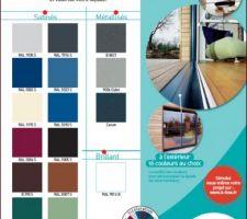 choix de la couleur des menuiseries alu ral 7016