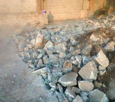 demolition et terrassement du sol existant