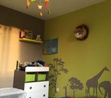 la chambre de mon bebe theme la savane