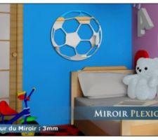 miroir ballon de foot