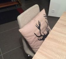 le sejour prend enfin forme chaises ikea table fly coussin ikea collection hiver 2013