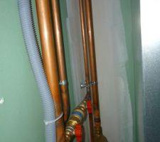 tuyaux de pompe a chaleur