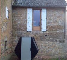 Porte fenêtre cuisine   Pour futur accès à la terrasse sur pilotis en exotique