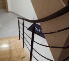 rambarde escalier termine