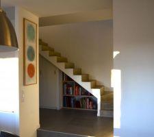 Aménagement sous-escalier