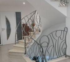 rambardes escalier