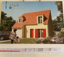 photo plaquette commerciale maison idylle 101