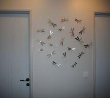 deco libellules dans le degagement