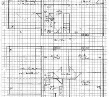 premiere version du plan propose par ldt sur la base de ce que j avais imagine en agrandissant le plan d une maison de leur base de donnee il faudra retravailler le plan car je suis moyennement satisfaite