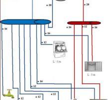 schema plomberie