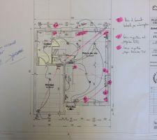 plan electrique rdc