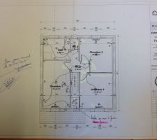 plan electrique etage