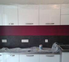 peinture de la cuisine
