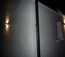 Lumière extérieur de chez mr bricolage