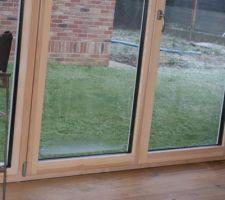 Condensation intérieur triple vitrage