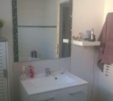 Notre salle de bain, pas encore réellement finis