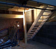 L'escalier du grenier