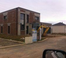 20/02/2015 : prêt pour les aménagements extérieurs
